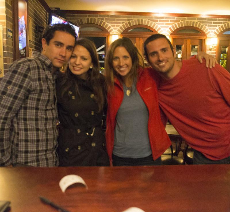 group shot at Bogota Beer Company