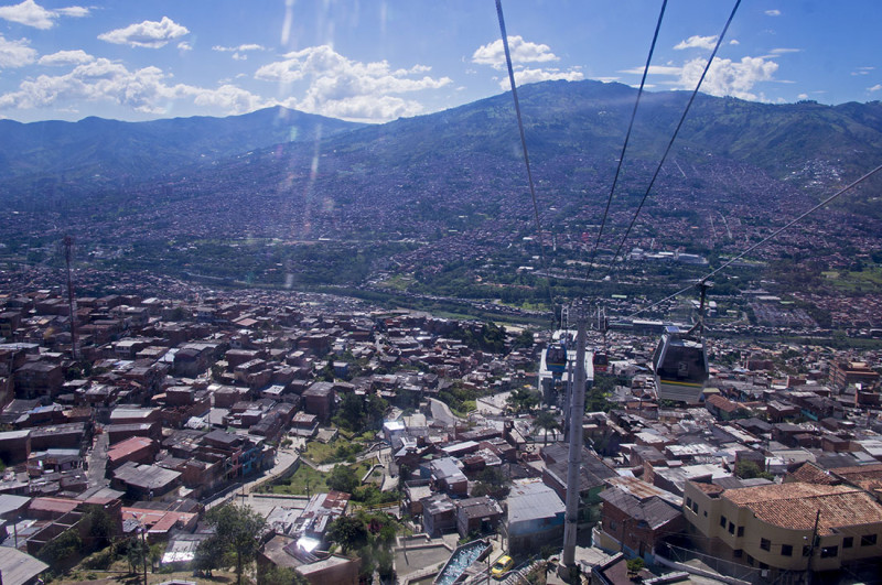 metro-cable Medellin