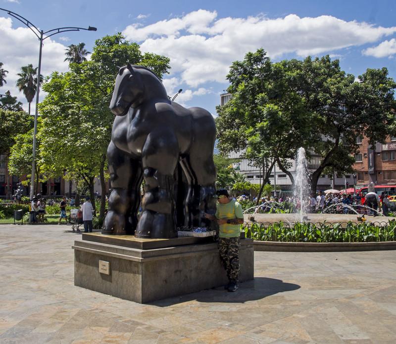 Botero Sculpture Park Medellin Colombia