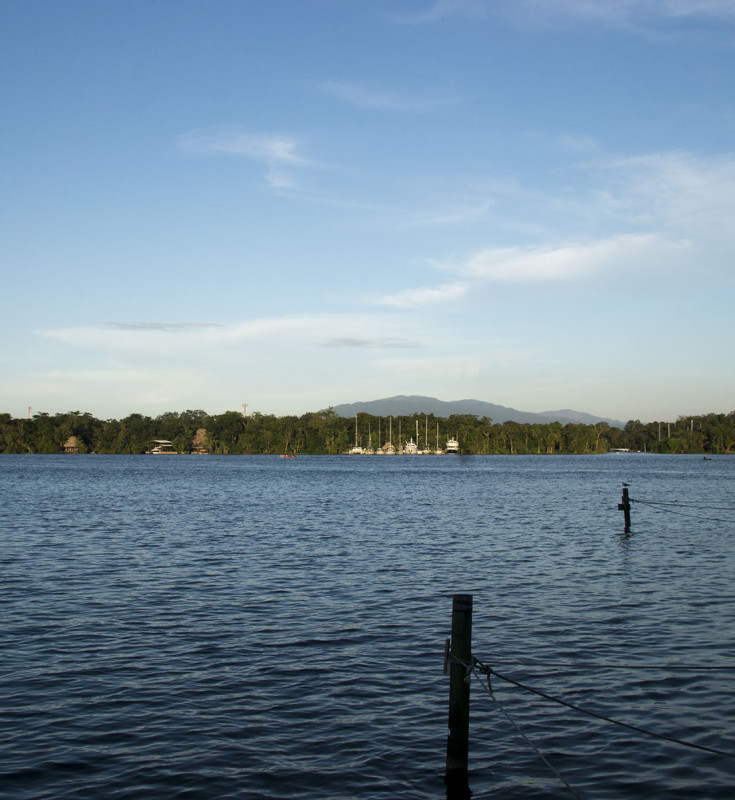 overlooking Rio Dulce, Guatemala