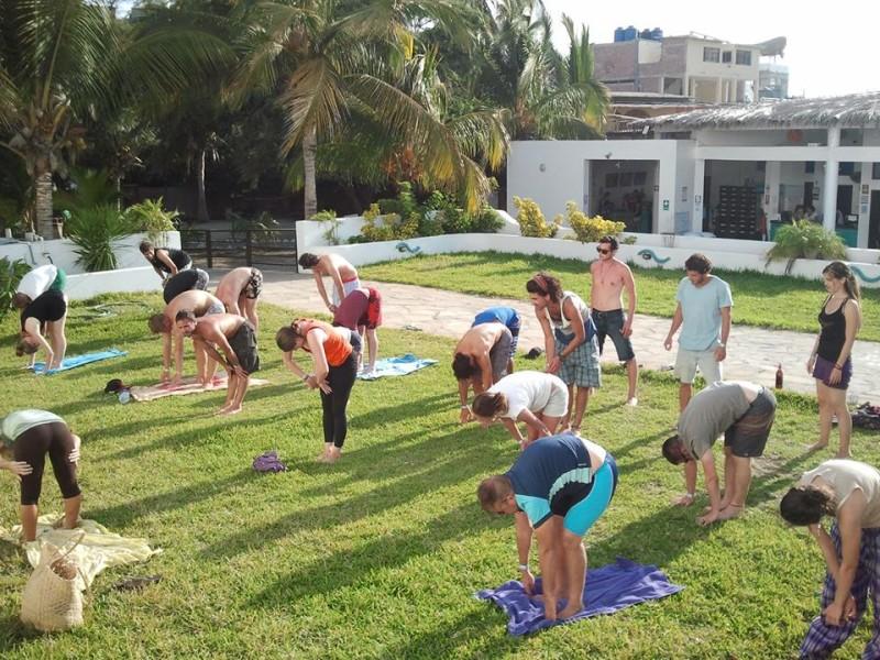 yoga at loki
