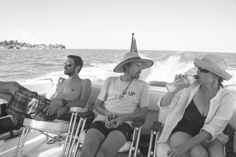 Matt, Luki and Elmari