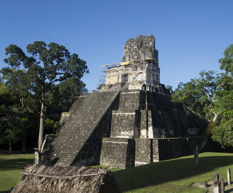 Temple Two, Tikal