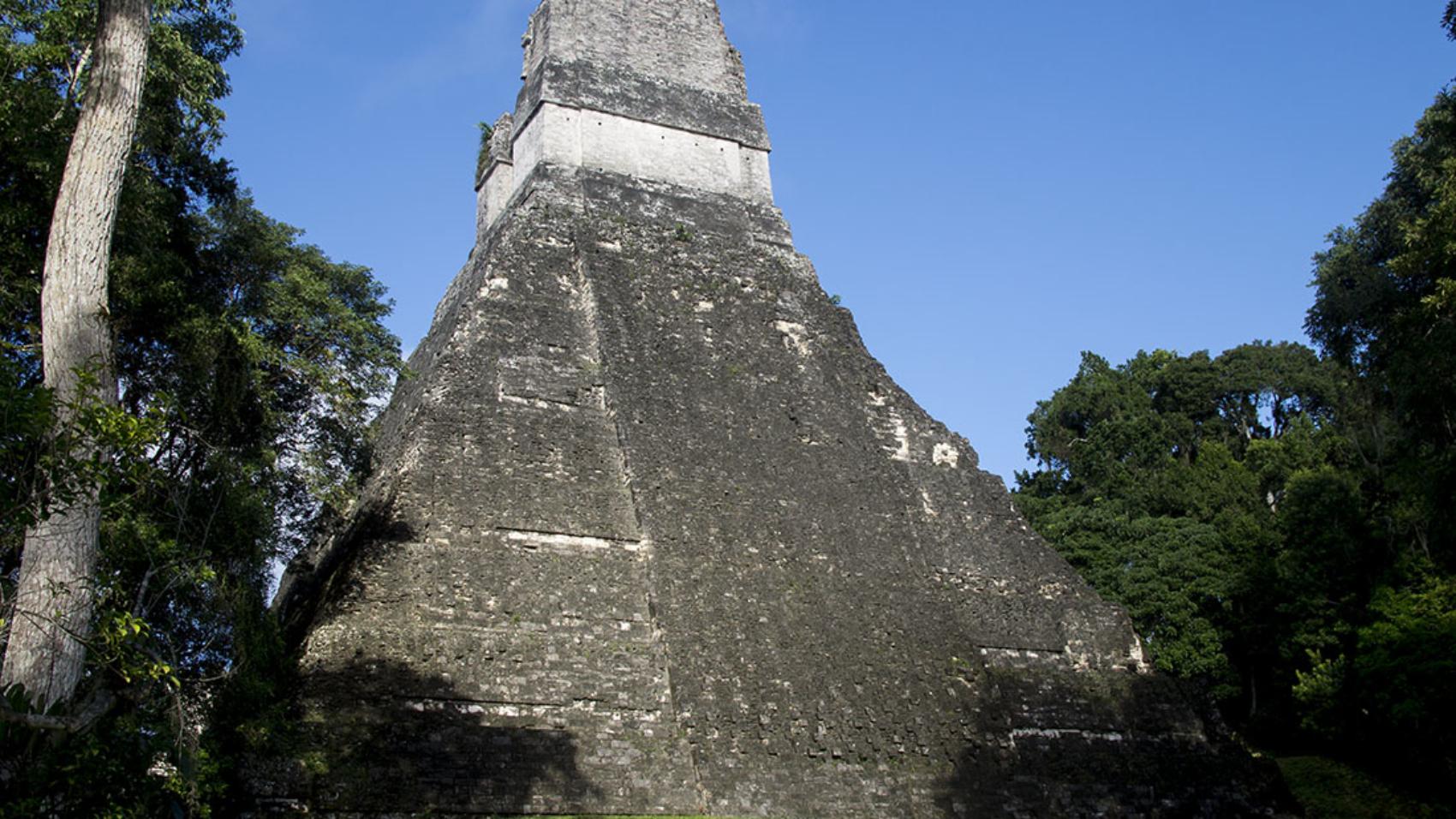 Back of Temple 1, Tikal