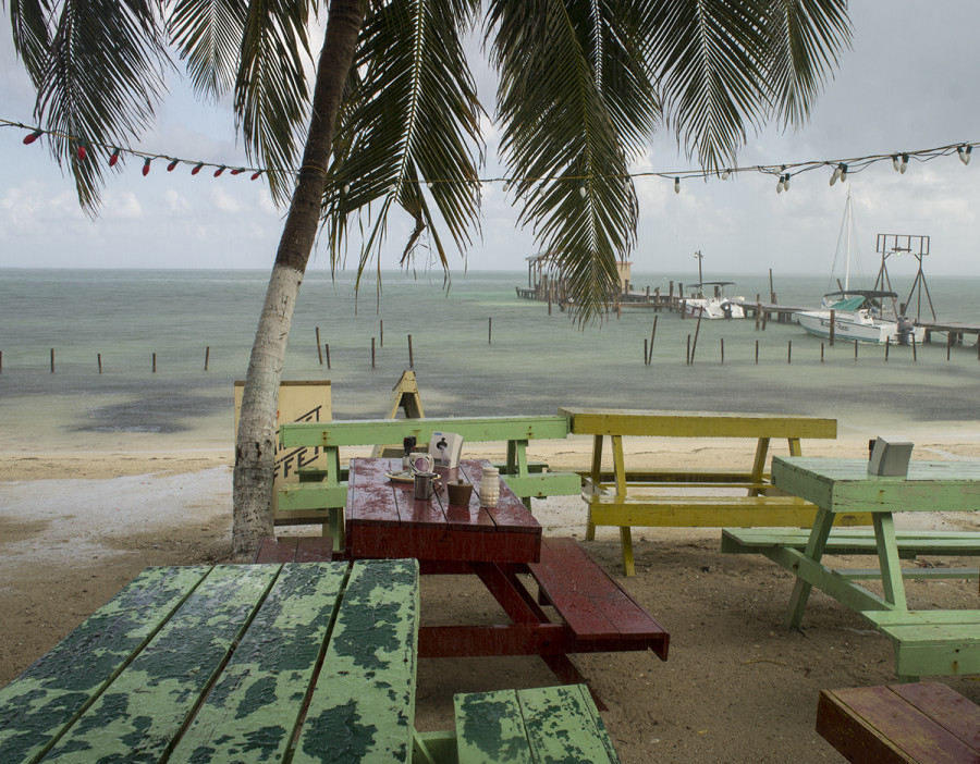 La Cubana restaurant, Cay Caulker, Belize