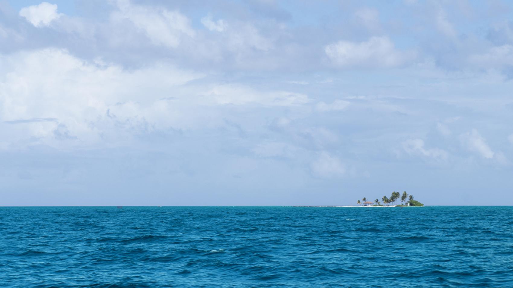 Private island in Belize