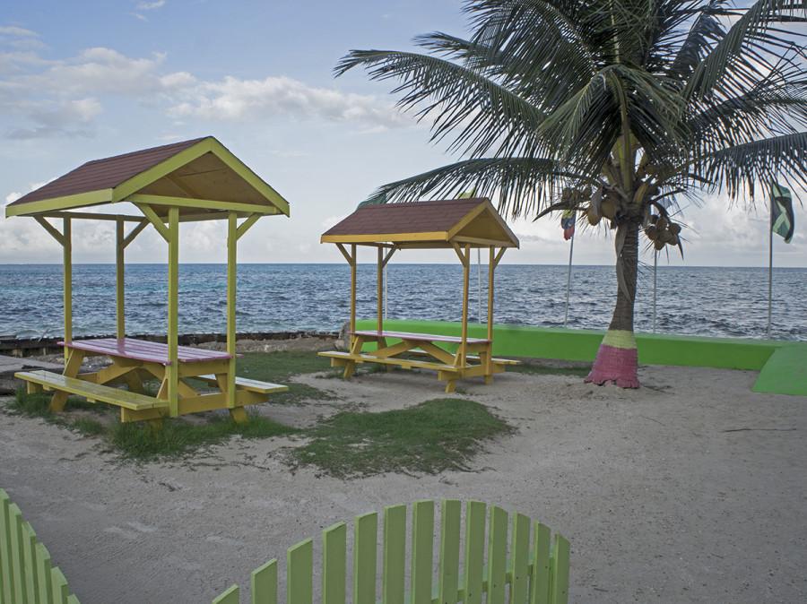 beach, Cay Caulker, Belize