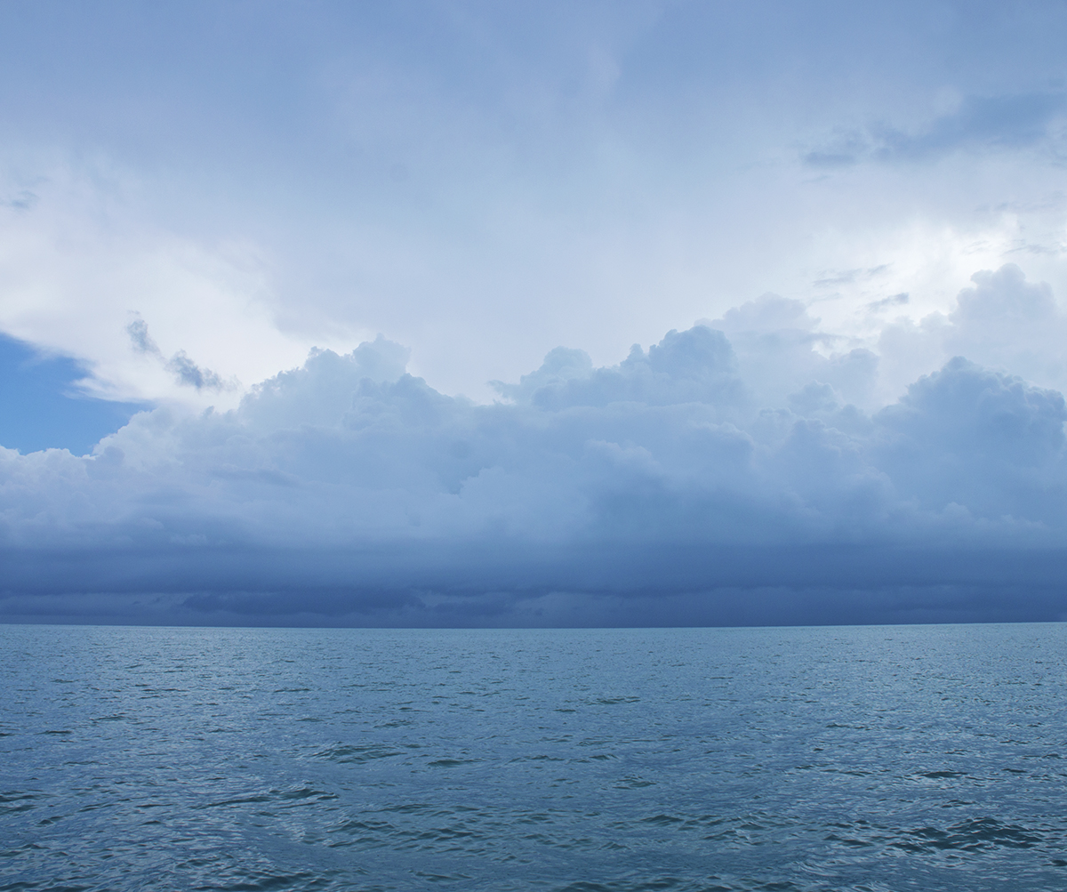 storms at St. George's Cay