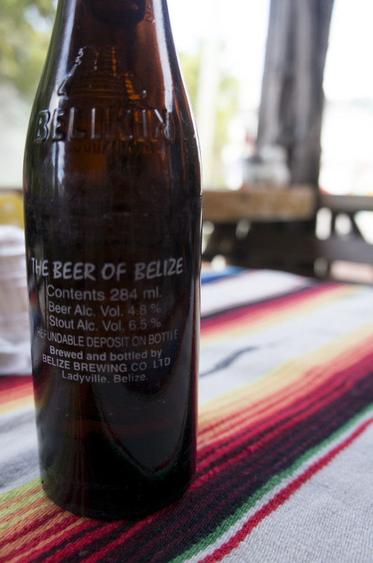Belikin beer, Belize