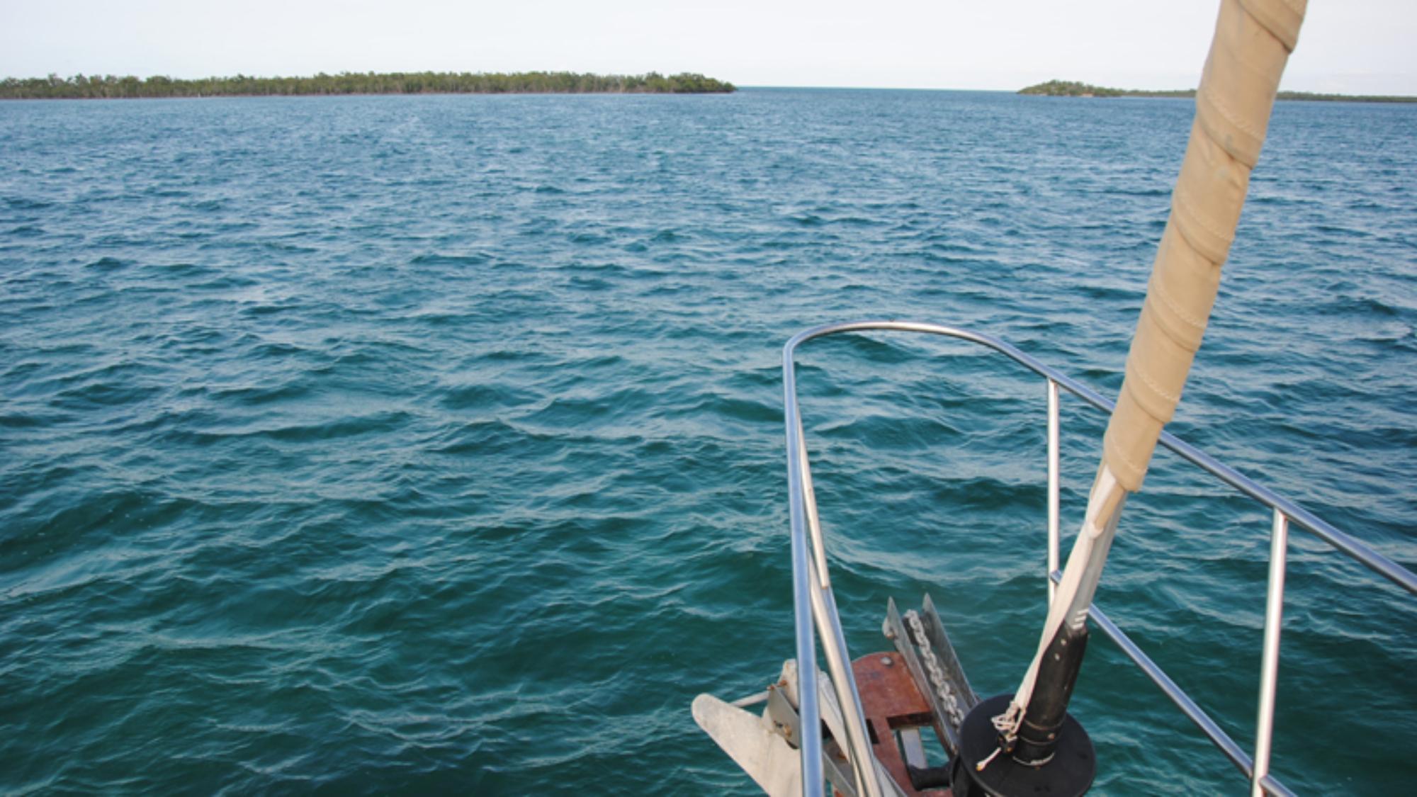 Entering fishing camp