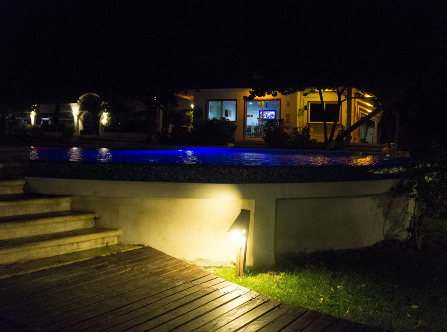 pool at Paraiso, Isla Mujeres