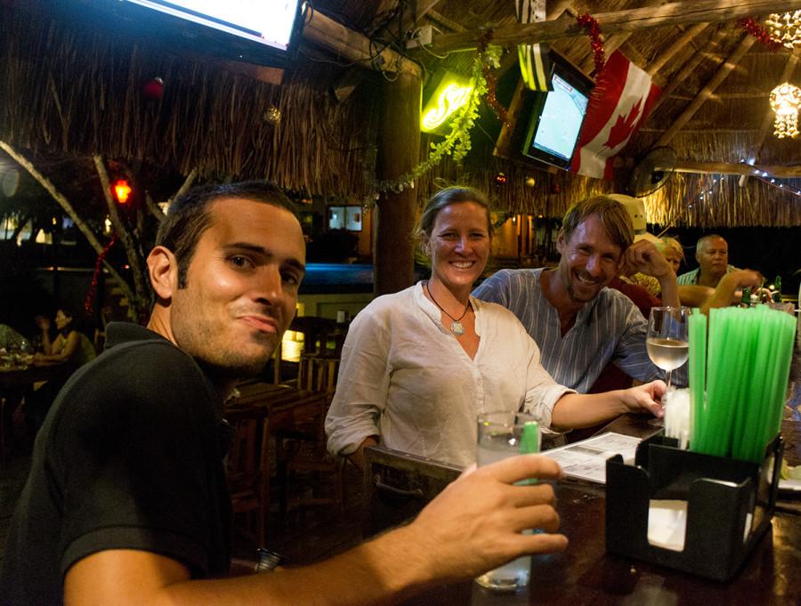 bar at Marina Paraiso, Isla Mujeres, Mexico
