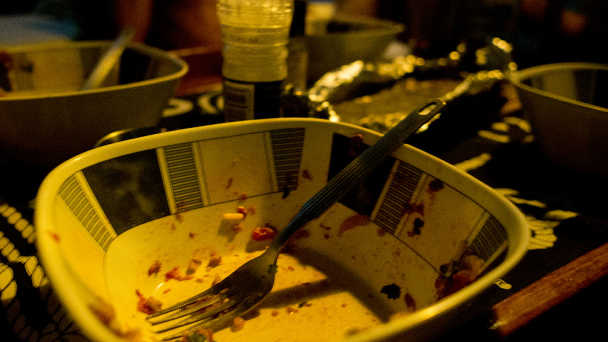 dinner on Skebenga