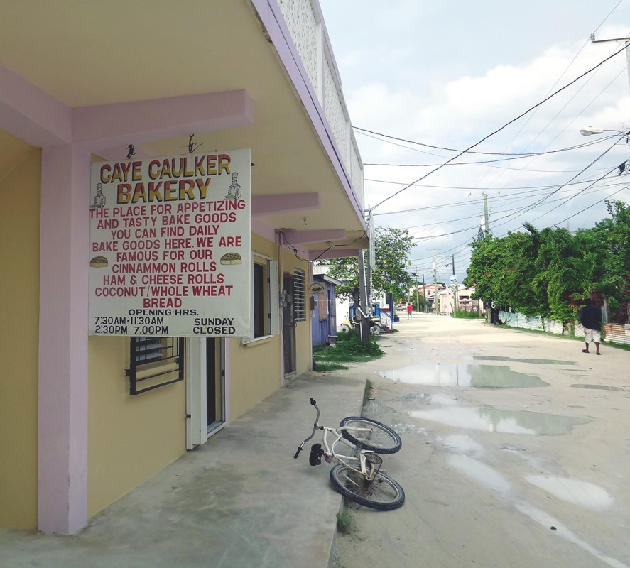 bakery, Cay Caulker, Belize