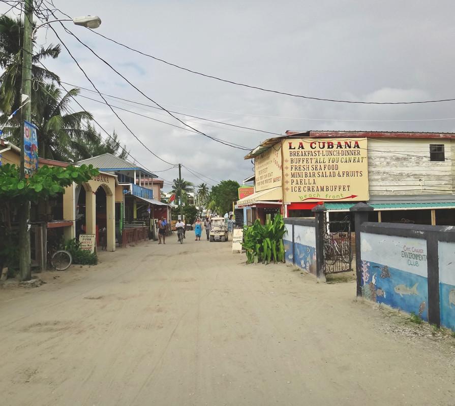 La Cubana, Cay Caulker, Belize
