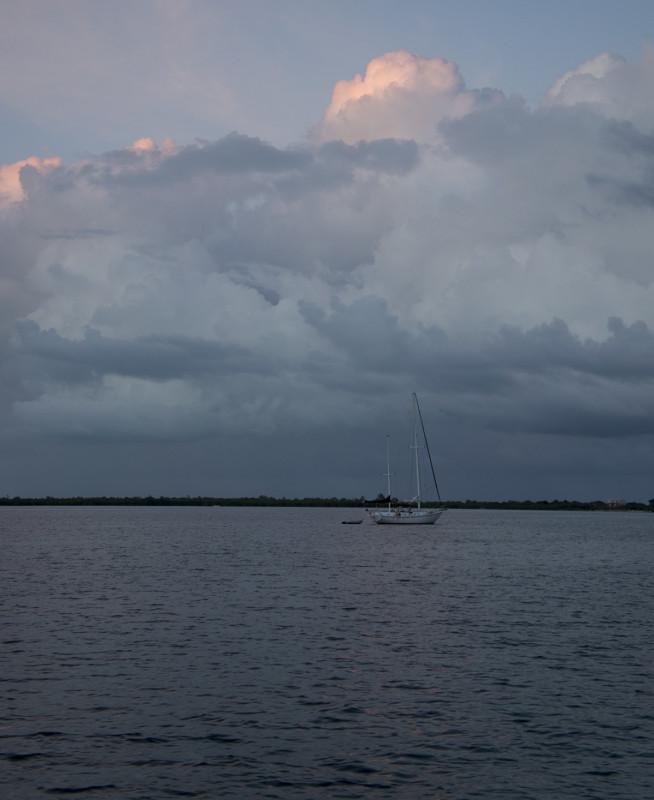 sunset, Cay Caulker