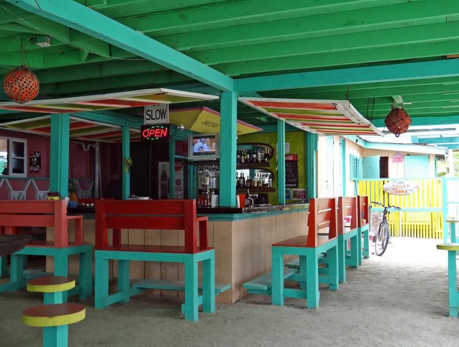 restaurant, Cay Caulker, Belize