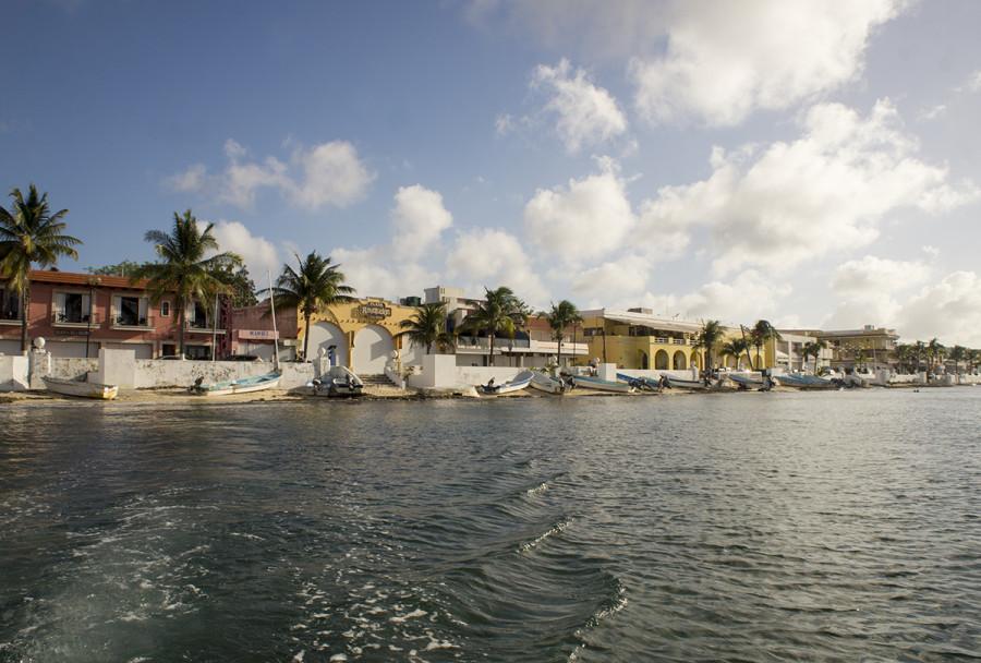 shoreline of Cozumel, Mexico