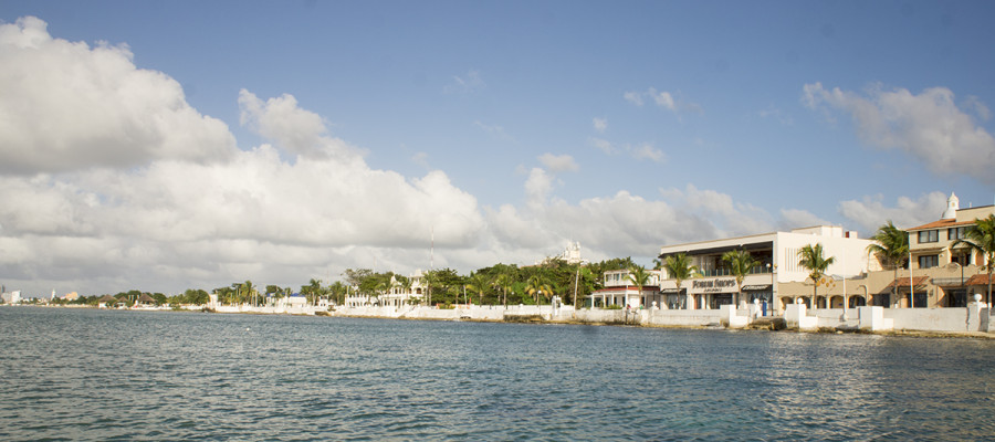 bay in Cozumel