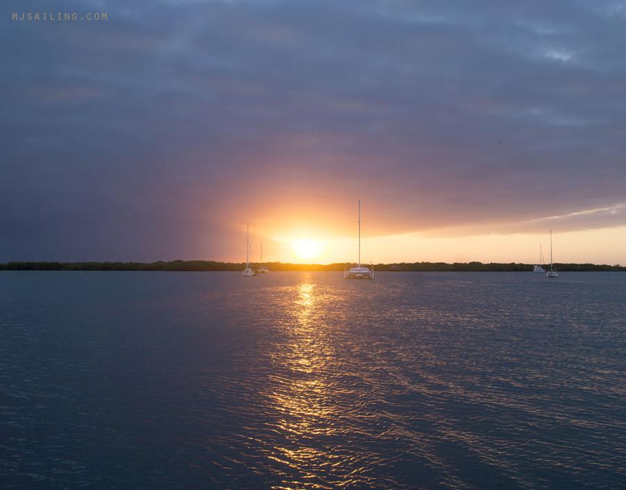 Sunset at Maraina Paraiso