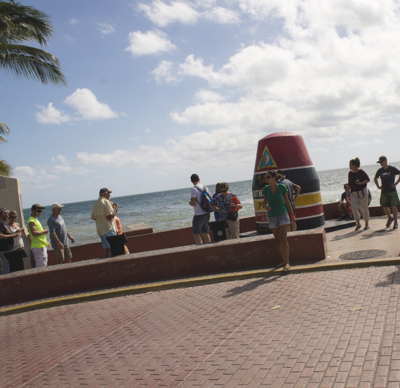 Jessica at southernmost point