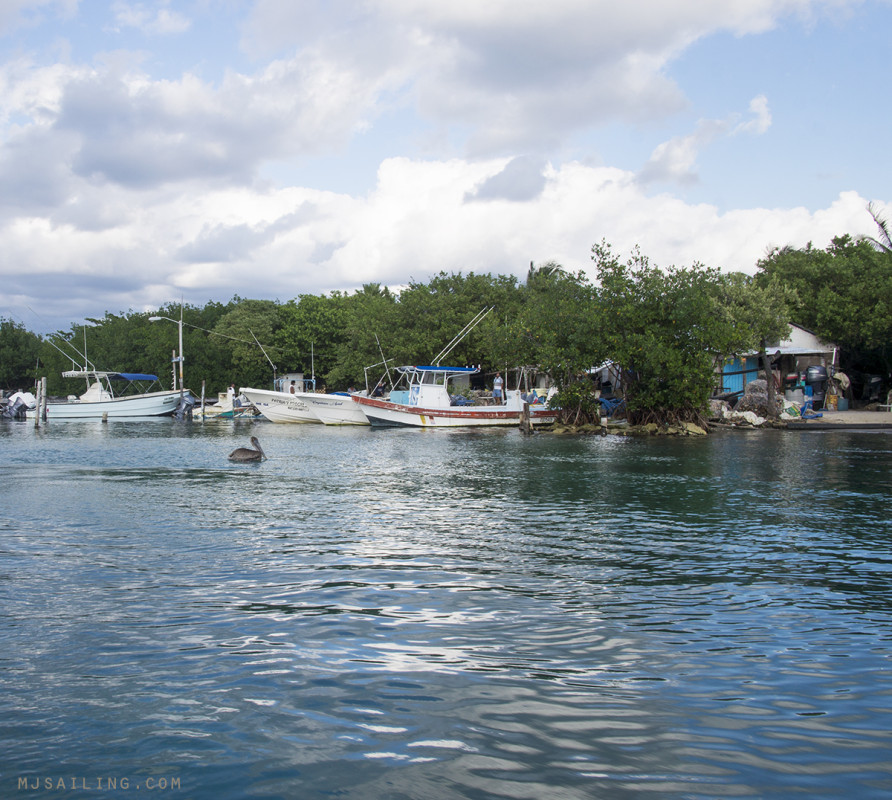 fishing boats in Isla Mujeres