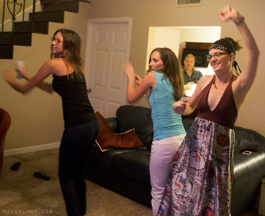 dancing at Jessica's
