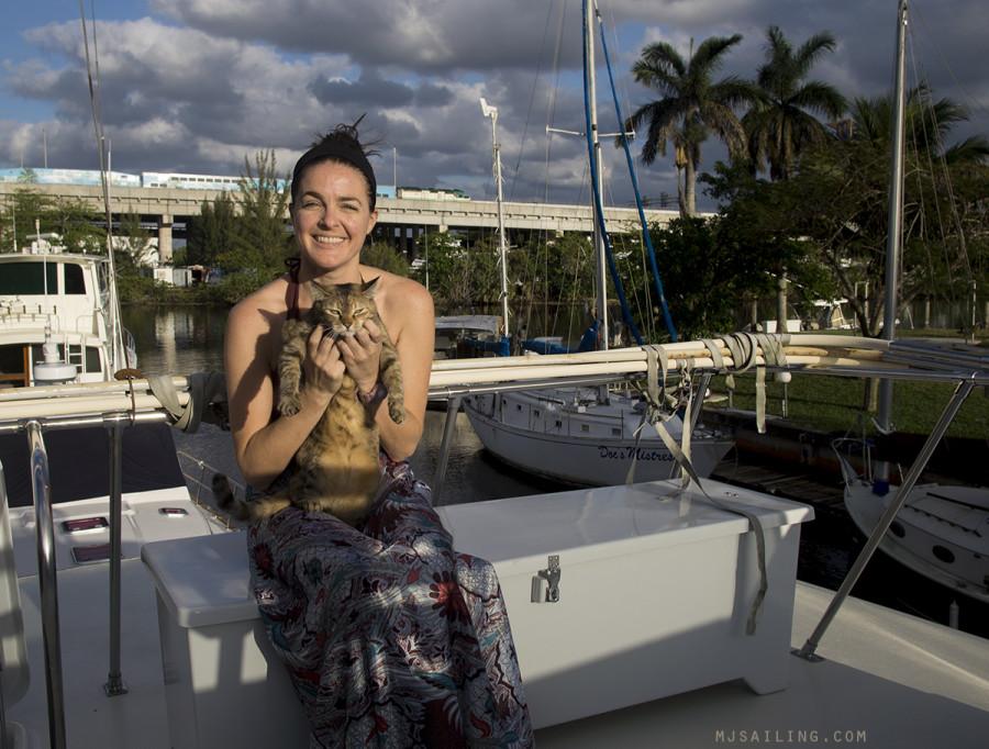 Jessica G. & cat