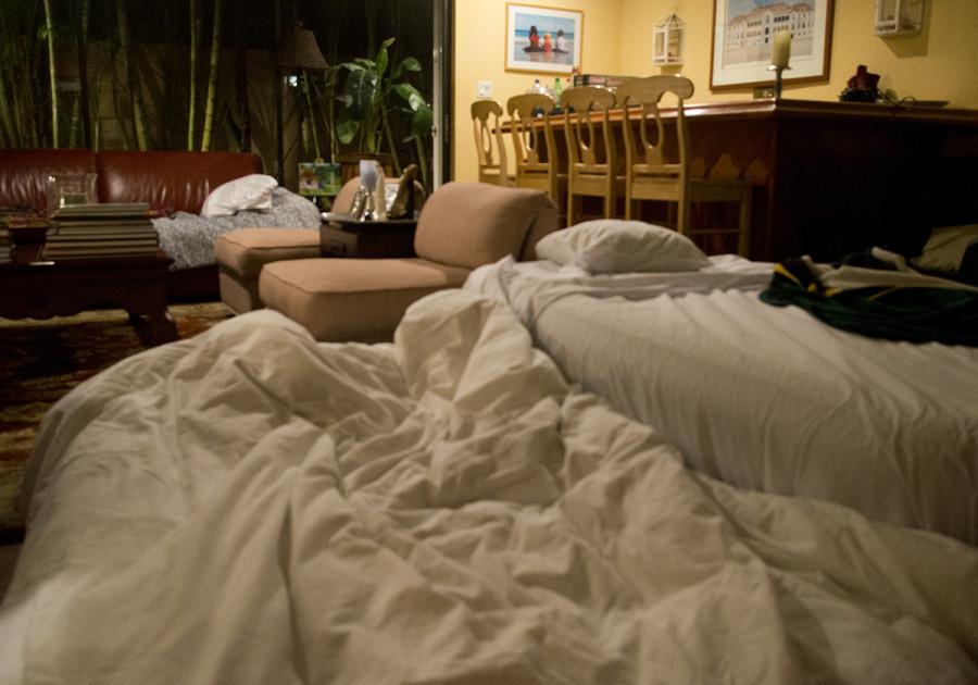 adult slumber party