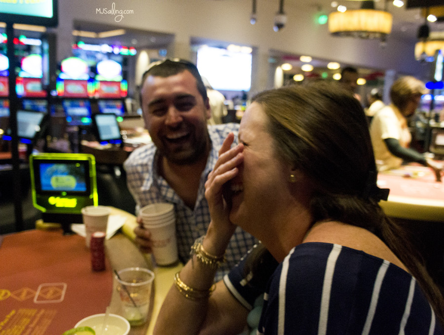 Jereme & Kim in casino