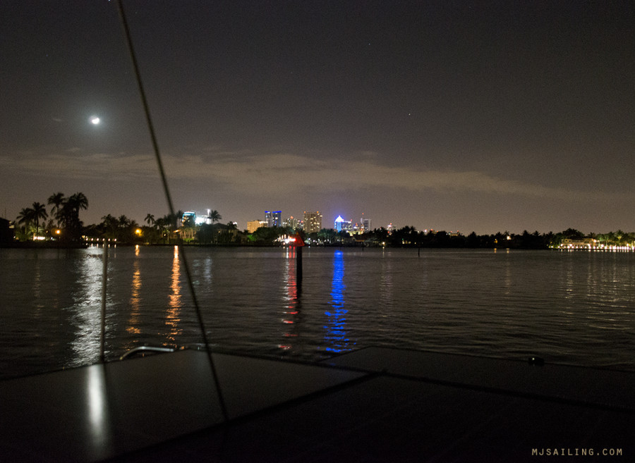 ICW at night