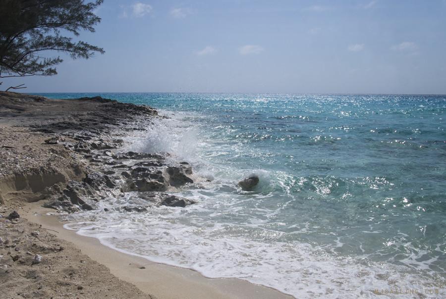 rocks on Bimini beach