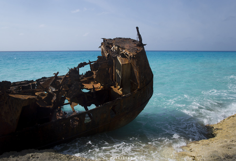 shipwreck on Bimini