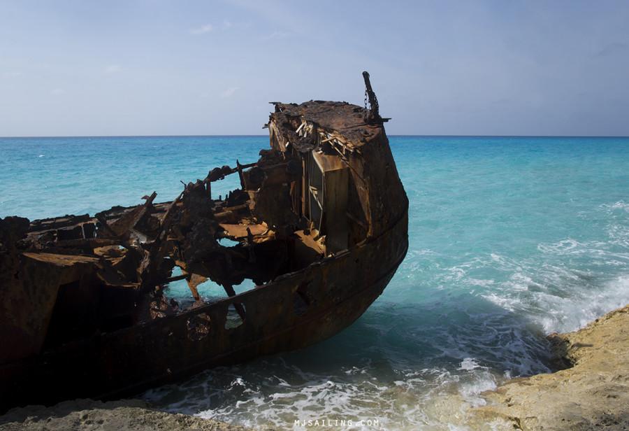 shipwreck on Bimini