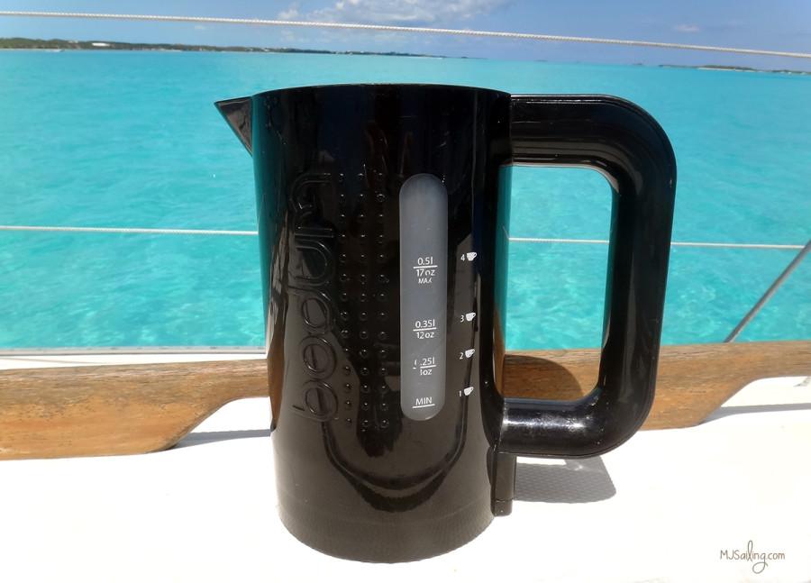 Bodum electric water heater