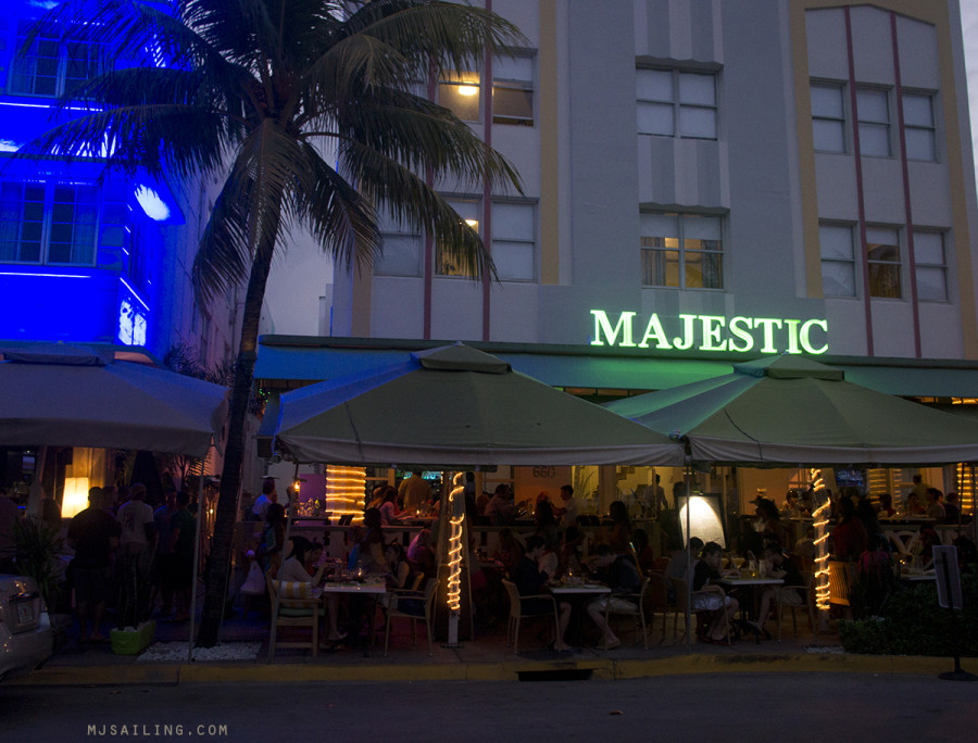 South Beach at Night - Majestic