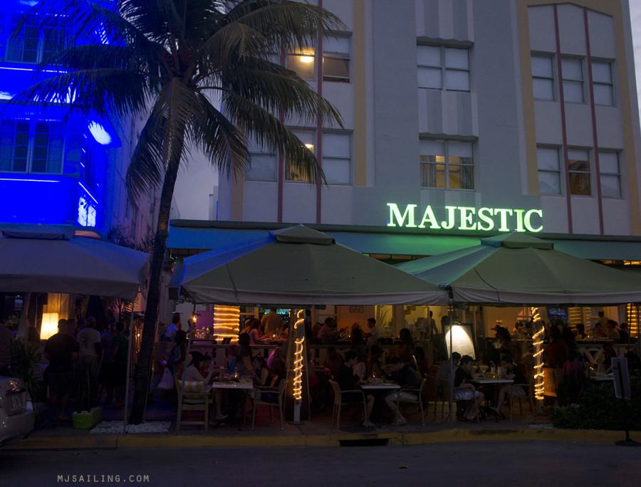 South Beach at Night - Majestic