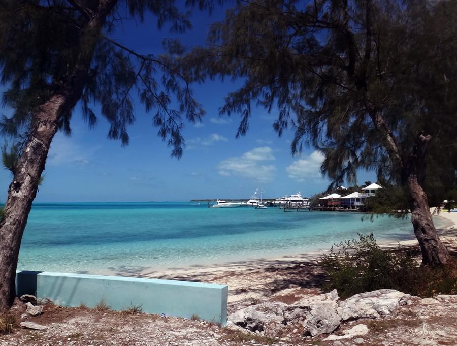 streets of Staniel Cay, Exumas