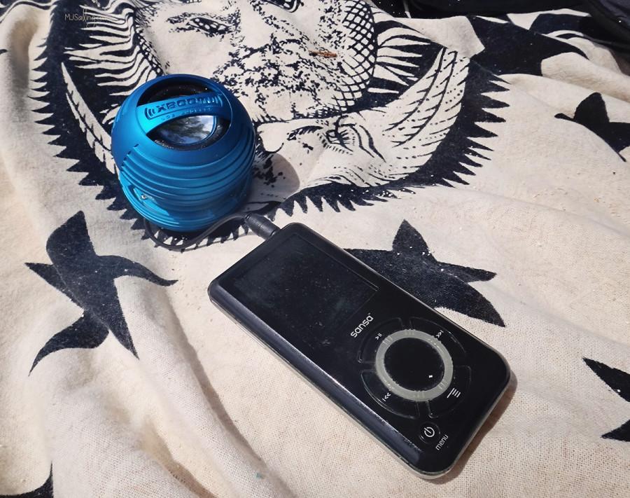 Xboom portable speaker