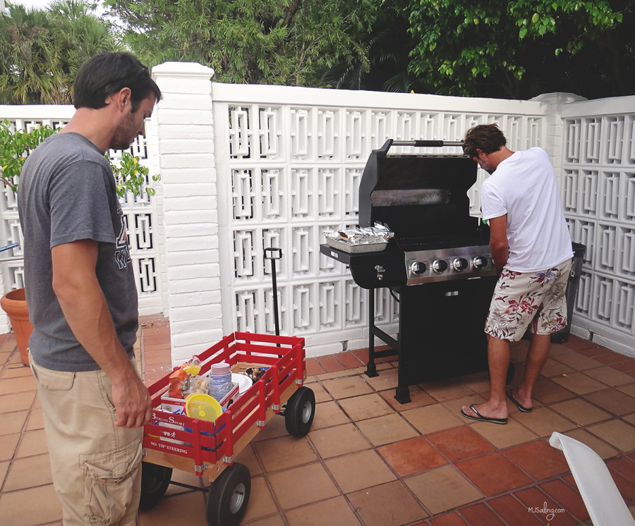 Alfredo grilling