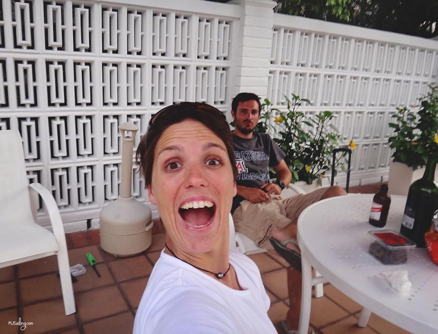 Ana Bianca's selfie