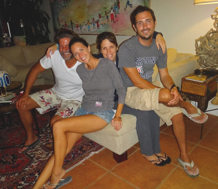 Alfredo, Jessica, Ana Bianca, & Matt