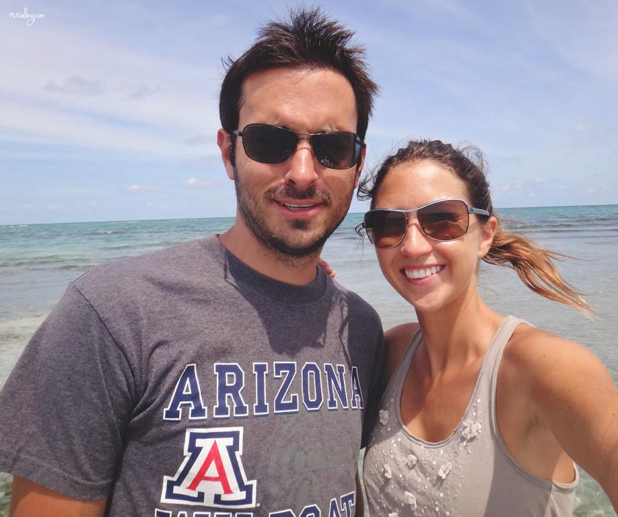 Matt & Jessica selfie