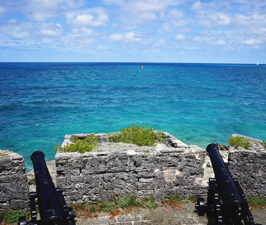 Bermudian fort, entrance St. George's Harbor