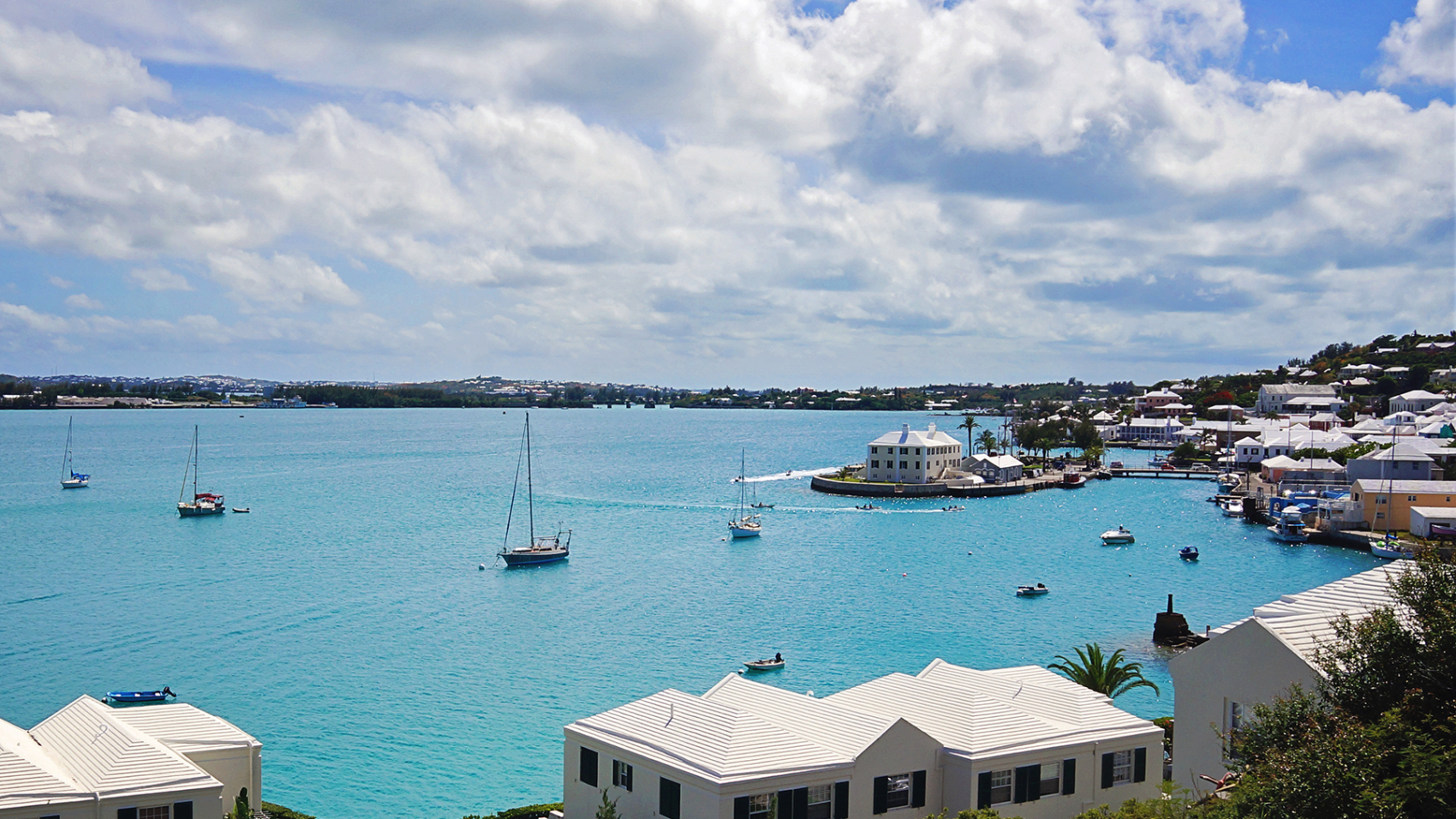 Serendipity in St. George's Harbor, Bermuda