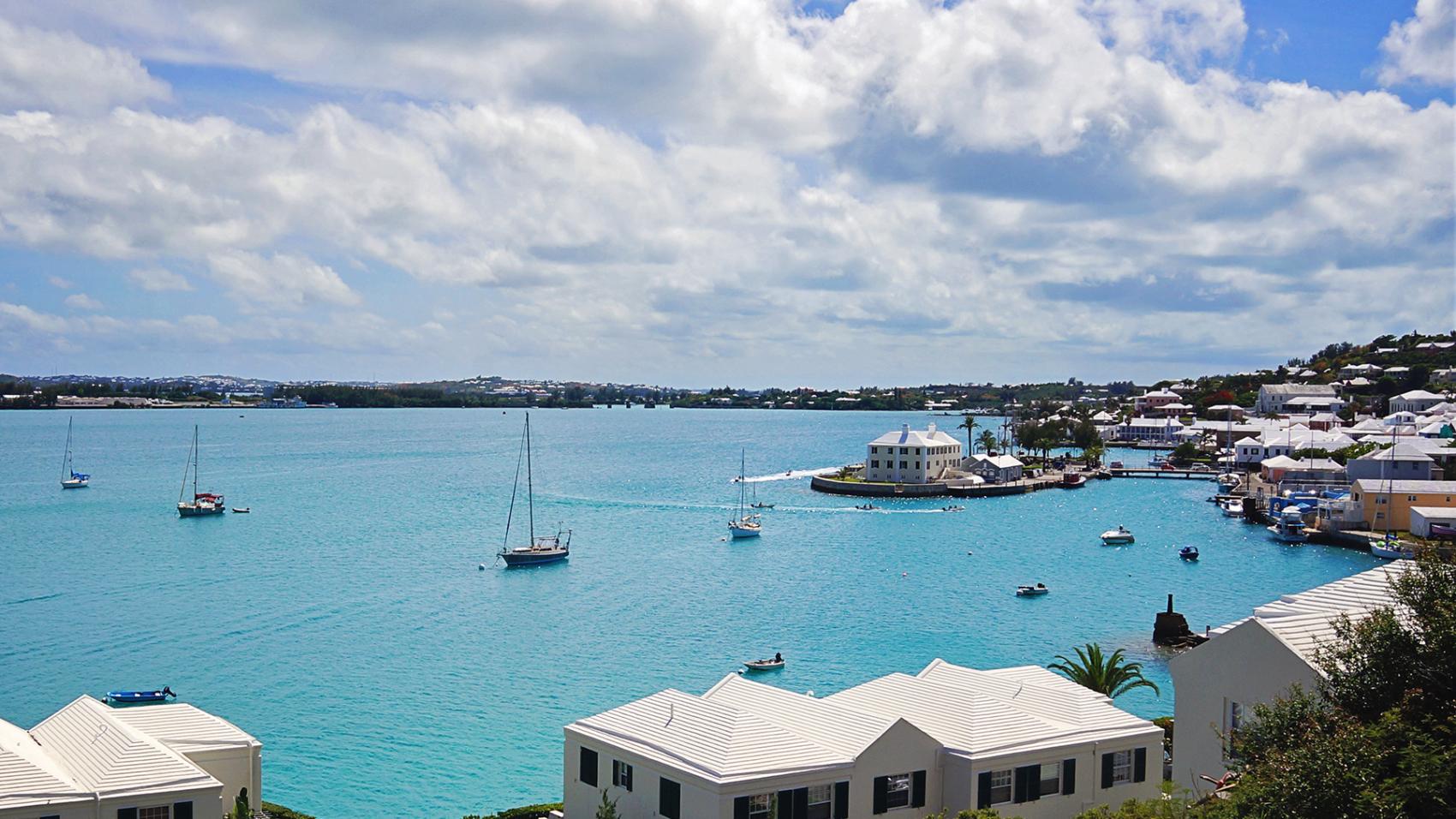 Serendipity in St. George's Harbor, Bermuda
