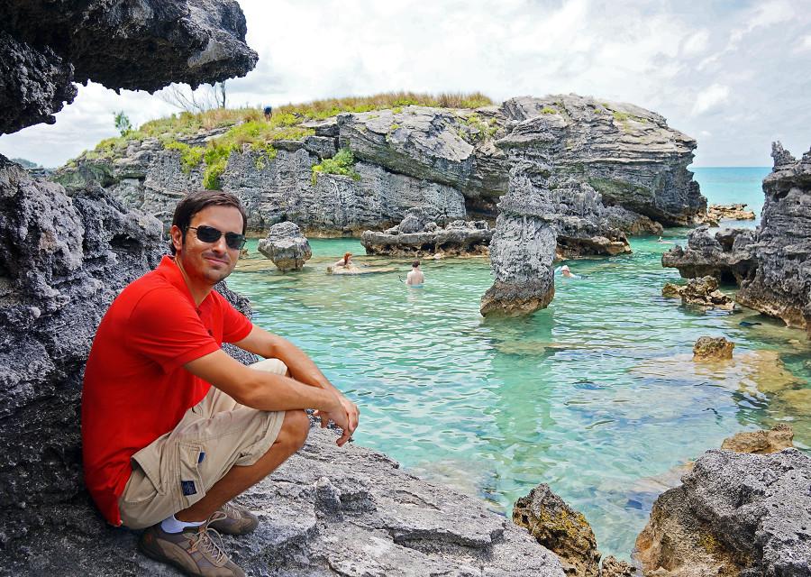 Matt at Tabacco Bay
