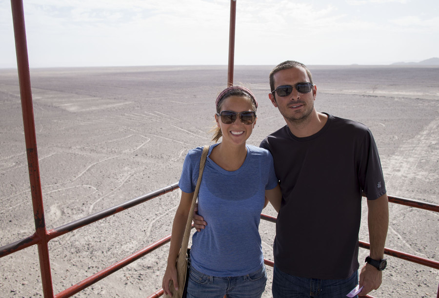 Matt & Jessica at Nazca LInes
