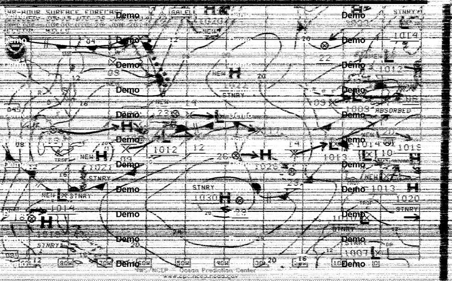 Atlantic surface analysis