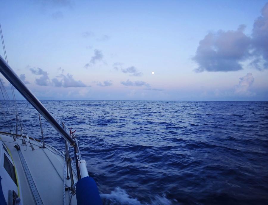 dusk on the Atlantic